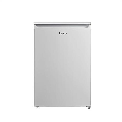 Lec U5517W Undercounter Freezer - White - A+ Rated