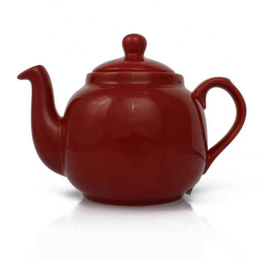 Teapot Farmhouse Red Filter