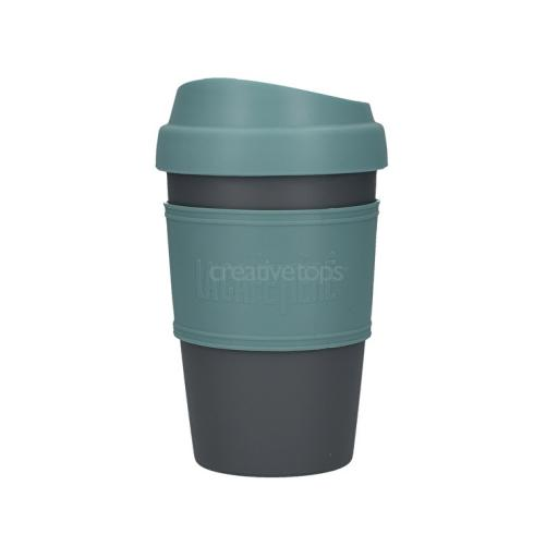 Travel Cup Blue Gray La Cafetière
