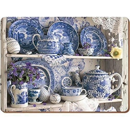 Creative Tops Blue and White China Placemats