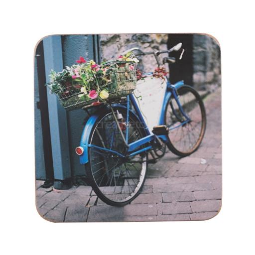 Creative Tops Vintage Bike Pack Of 6 Premium Placemats