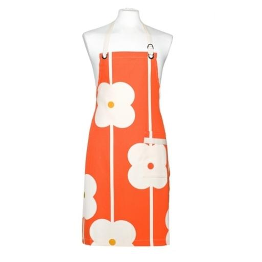 Orla Kiely Apron Abacus Red
