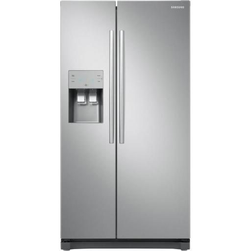 Samsung RS50N3513SL American Style Fridge Freezer - Stainless Steel Effect - A+ Rated