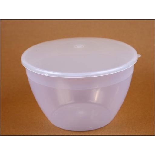 Justpud Hr113 Pudding Basin & Lid 4Pt