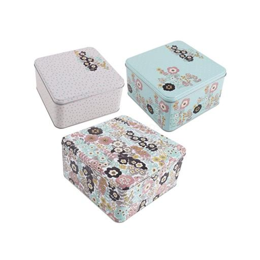 Katie Alice Pretty Retro Small Cake Tin