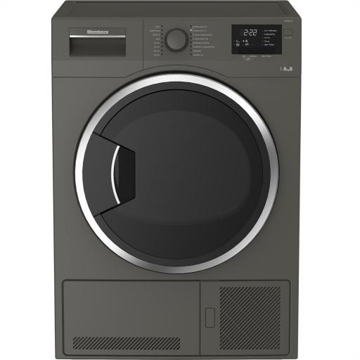 Blomberg LTK28031G 8kg Condenser Tumble Dryer - Graphite - B Rated
