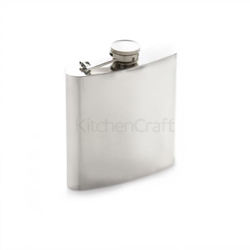 Bc Hip Flask Stainless Steel
