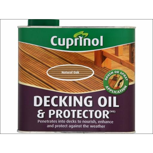 Cup Deck Oil Natural Oak 2.5L