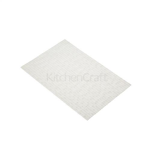 Placemat Woven Silver