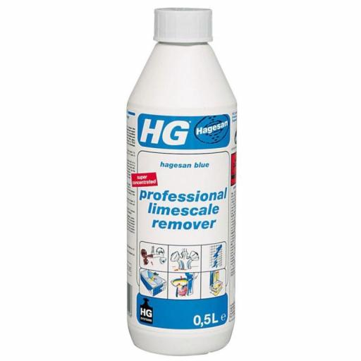 Hg Blue Limescale Remover
