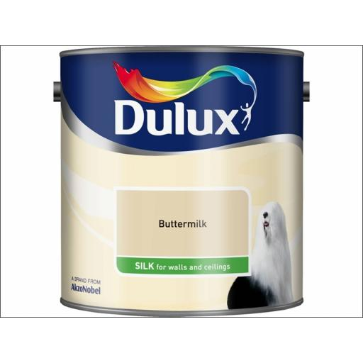 Dulux Silk Buttermilk 2.5L