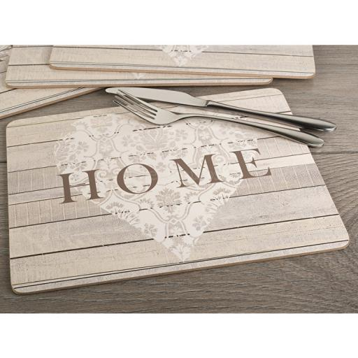Creative Tops Everyday Home Home Pack Of 4 Placemats