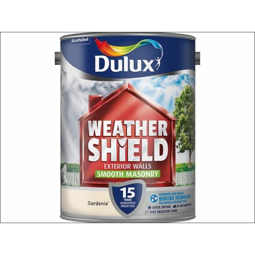 Weather Shield Smooth Gardenia 5L