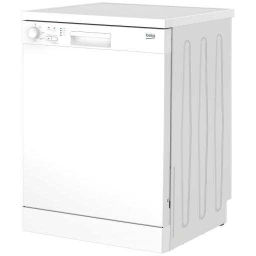 Beko DFN04C11W Full Size Dishwasher - White - A+ Rated