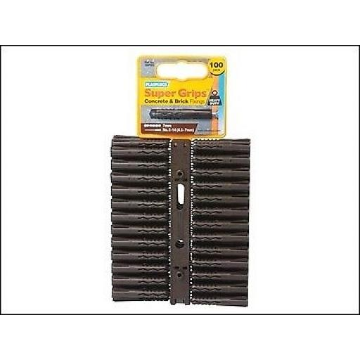 Supergrip Heavy-Duty Brown x 100 SBP503