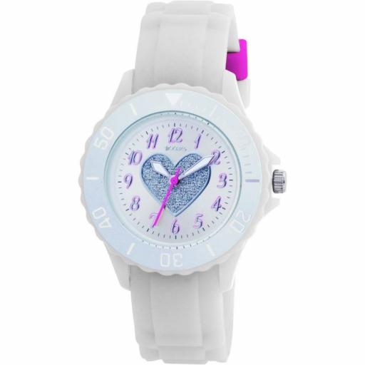 Watch Tikkers Heart White Strap