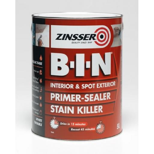 Zinsser B-I-N Primer & Sealer 500Ml