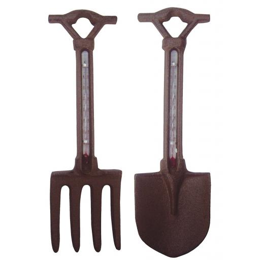 Fallen Fruits Fork/Spade Thermometer