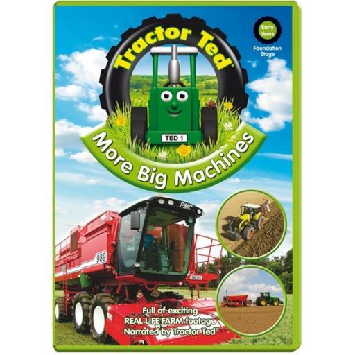 Tractor Ted More Big Machines