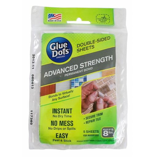 Glue Dots Advanced Strength Sheets