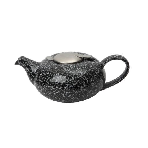 Teapot Pebble Gloss Black