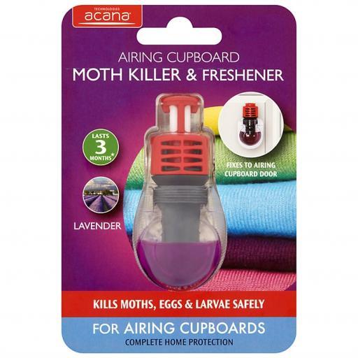 Acana Aca011 Airing Cupboard Moth Killer