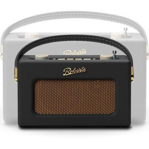 Roberts REVIVALUNOBLK DAB Portable Radio - Black