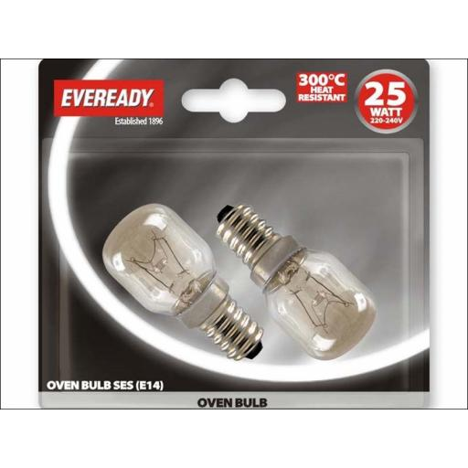 Evready S1023 Oven Lamp 25W Ses X2 Bls