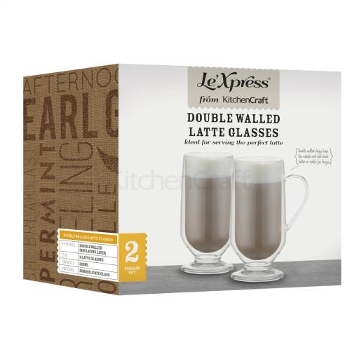 Glasses Latte Double Walled