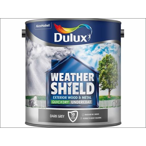 Dulux Weather Shield Qd Undercoat D.Grey 2.5L
