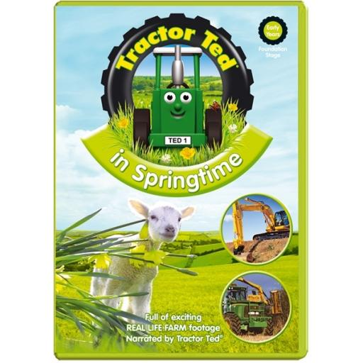 Tractor Ted In Springtime