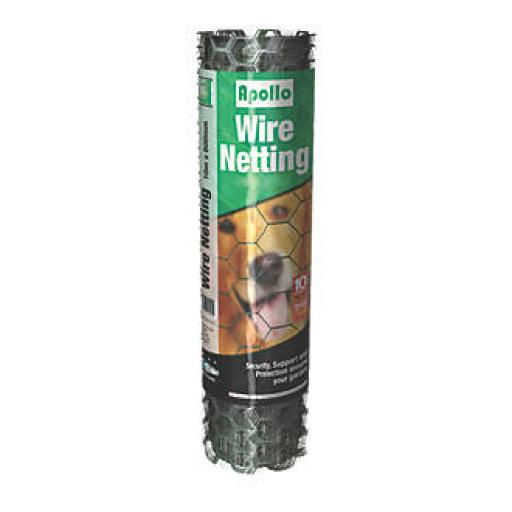 Wire Netting PVC 10M X 500Mm