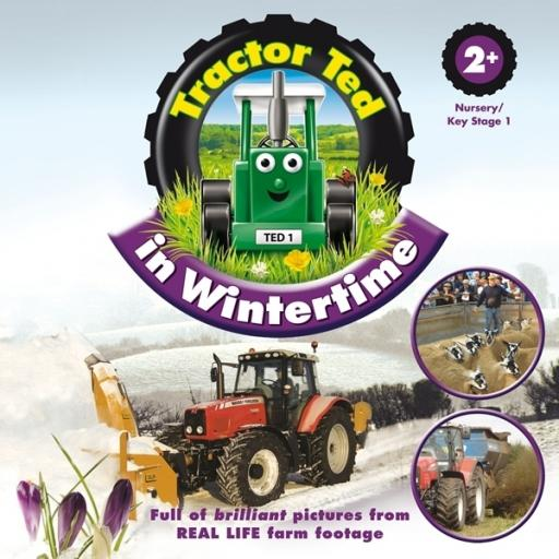 Tractor Ted Book In Wintertime