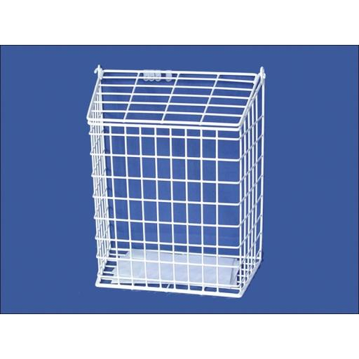 Harvey 62/M Letter Cage Medium White