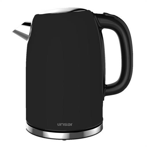 Linsar Jk115Black Electric Jug Cordless Kettle