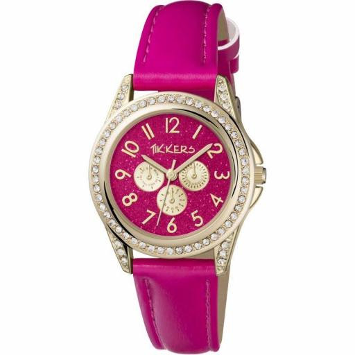 Watch Tikkers Gold & Pink