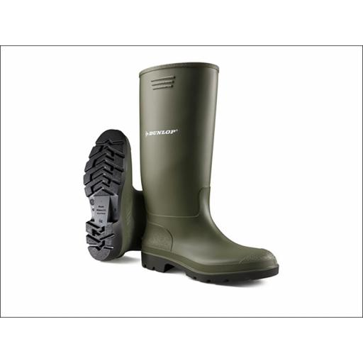 Pricemaster Wellington Boots Green Size 12 380VP