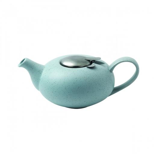 Teapot Filter Pebble Light Blue