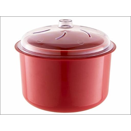 Easycook Ns600R Rice+ Veg Steamer Red