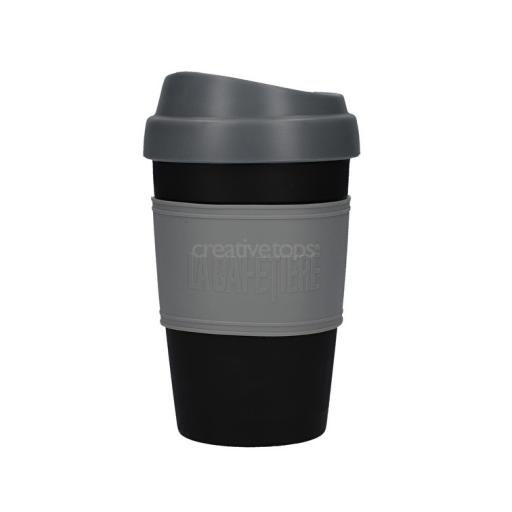 Travel Cup Black Gray La Cafetière