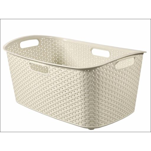 Curver Laundry Basket Antique White