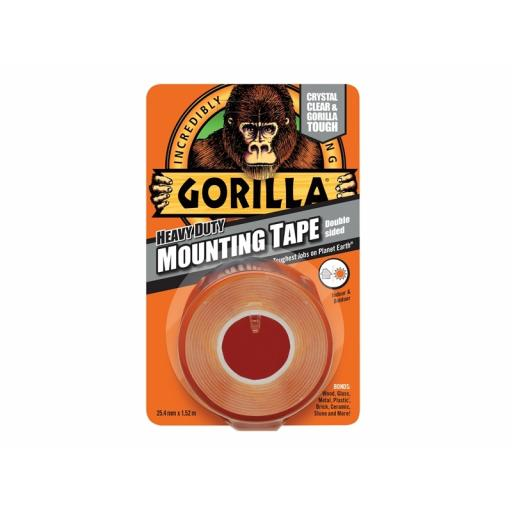 Gorilla Mounting Tape Clear