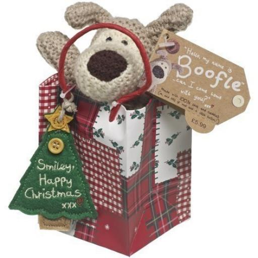 Boofle In Xmas Bag