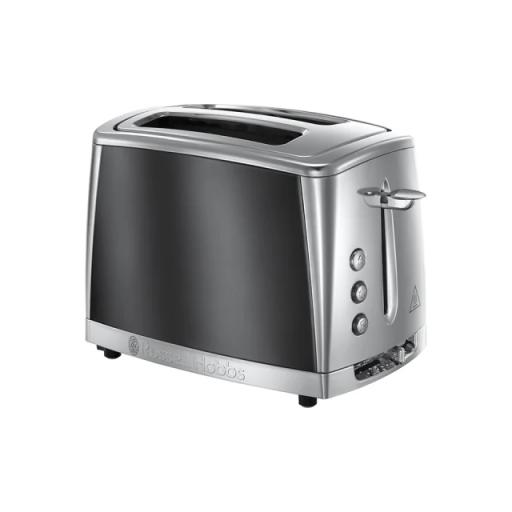 Luna Toaster Grey 2 Slice