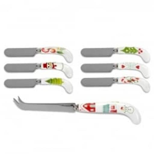 Christmas Wish Cheese Knife & Spreaders