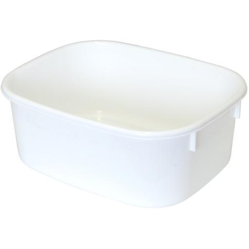 Lucy Oblong Bowl White Small
