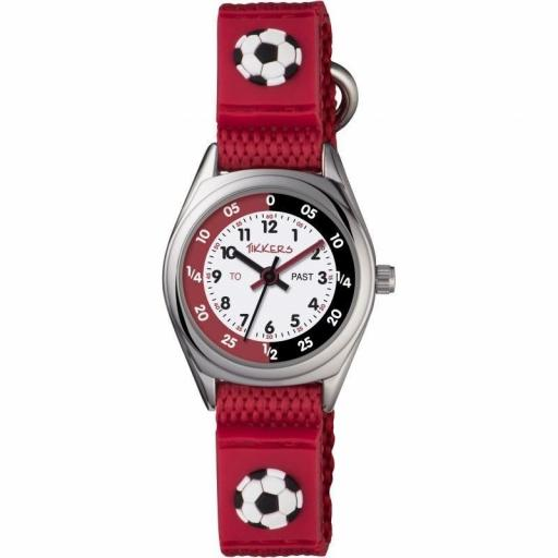 Watch Tikkers Football Red Strap