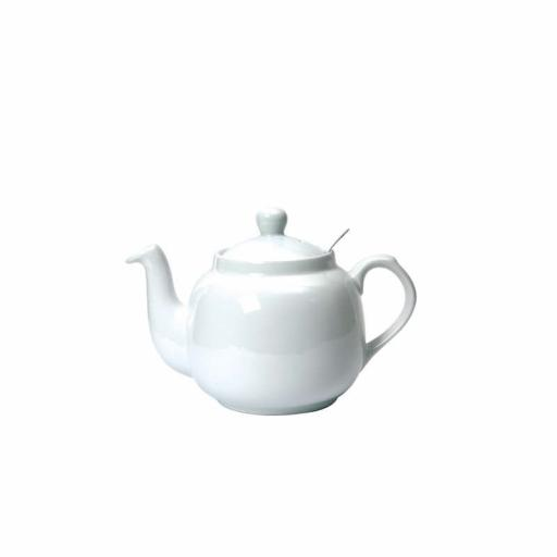 Teapot Farmhouse White With Filter
