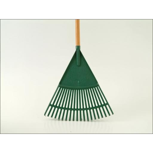 Leaf Rake Wooden Handle 27 Tooth R1676