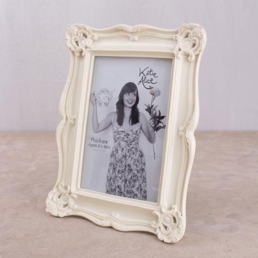 Katie Alice Cream Photo Frame